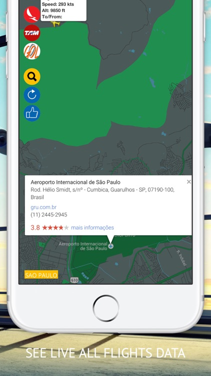 Air BR Free : Live flight Status & Radar screenshot-2
