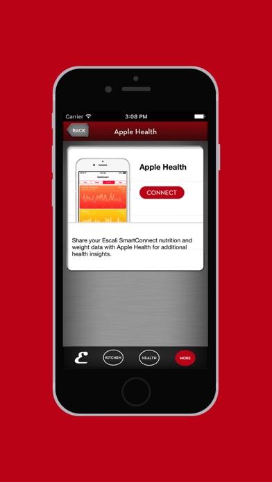 Escali SmartConnect iPhone