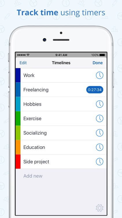 Timelines - Time Tracking