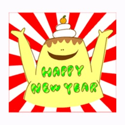 Happy New Year Stickers
