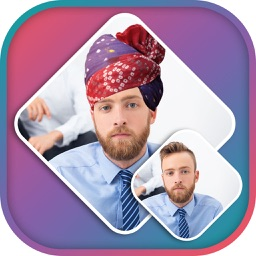 Rajasthani Turban Photo Editor - Turban Sticker