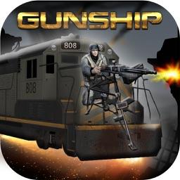Bullet Train Gunship Attack