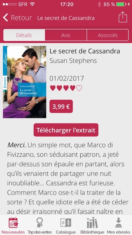 Harlequin : ebooks et romance