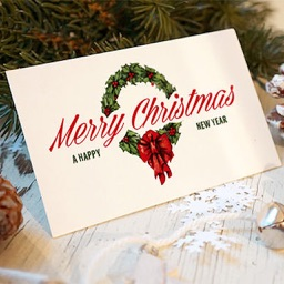 100+ Christmas Greetings Cards-Happy new year wish