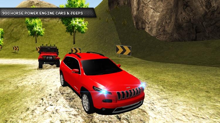 Offroad 4x4 Hill Jeep Driving Simulation screenshot-3