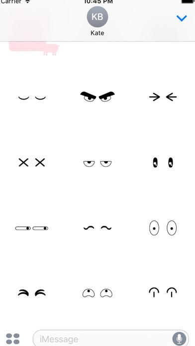 fukuwarai(福笑い)animal stickerのスクリーンショット3