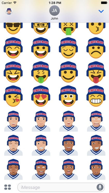 Chicago C Baseball Stickers & Emojis screenshot-3