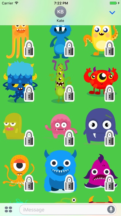 Monsters Sticker Pack screenshot-4