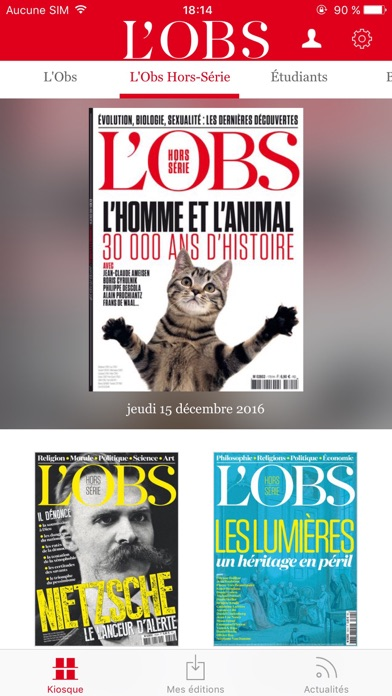 Lobs Le Magazine review screenshots