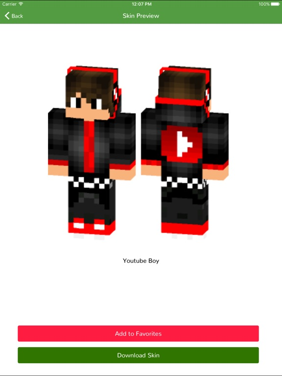 Boy Skins For Minecraft PE Edition App Price Drops - Skins para minecraft pe boy