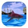 Angry Evolving Shark:Hungry Fish attacking at Beac
