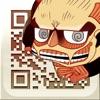 Attack on Titan QR Code Reader & QR Code Creator