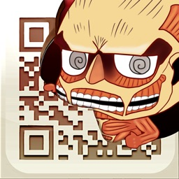 Attack on Titan QR Code Reader & QR Code Creator