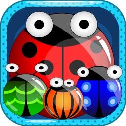 Ladybug Match Three Quest