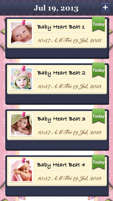 Screenshot for Baby's Beat - Pregnancy Baby Heartbeat Monitor in Denmark App Store