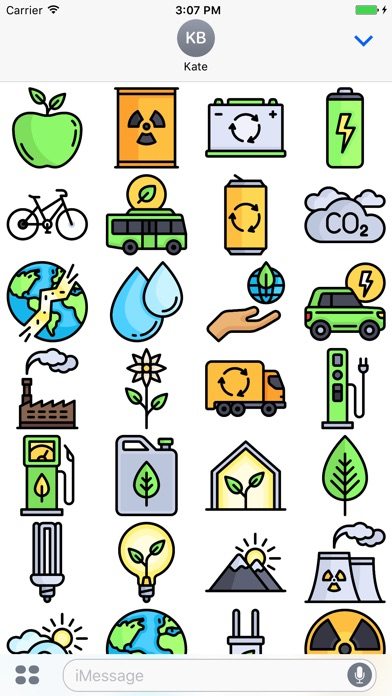Ecology Stickers - Emoji For Environmentalists-1