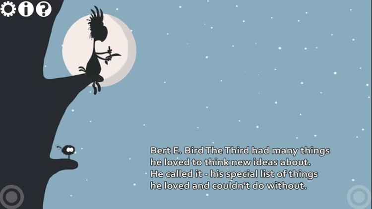 Bert E. Bird The Third And The Book Of Great Ideas screenshot-0