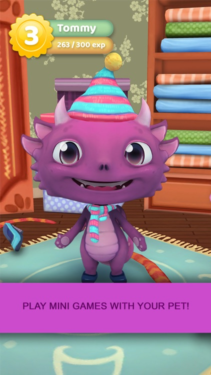 Kawaii Dragon Pet: Tiny School of Legends