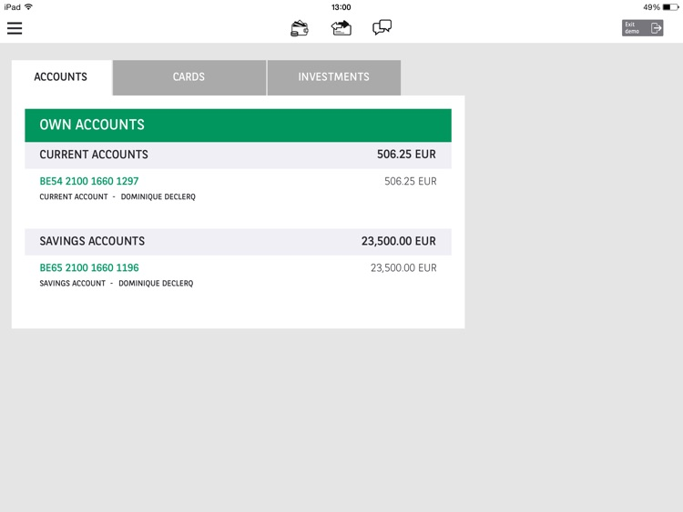 Easy Banking App. screenshot-1
