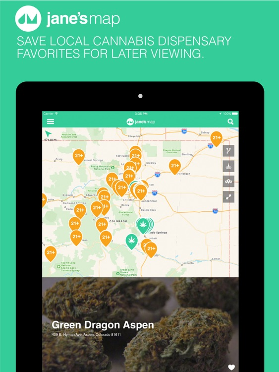 jane's map - find and rate cannabis dispensaries screenshot-4