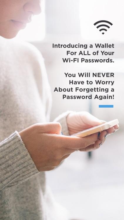 Wi-Fi Wallet Unlock Passwords