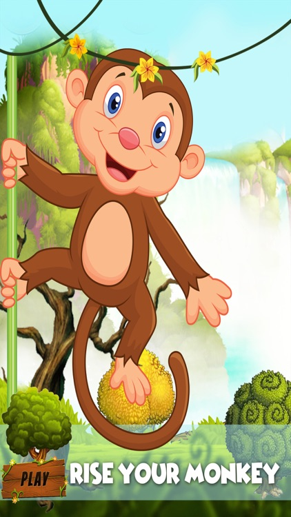 Monkey Runner : crazy run  in jungle for banana screenshot-3