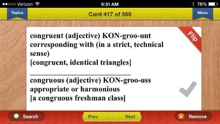 LSAT Prep Verbal Flashcards Exambusters