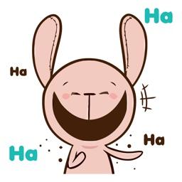 Teddy Rabbit Animated Emoji Stickers