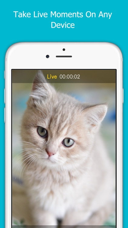 Live Camera-Take Live Photos on any device