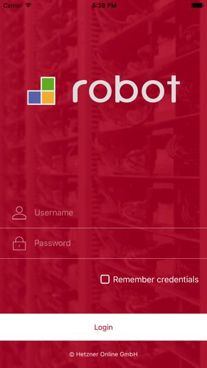 Robot Mobile im App Store
