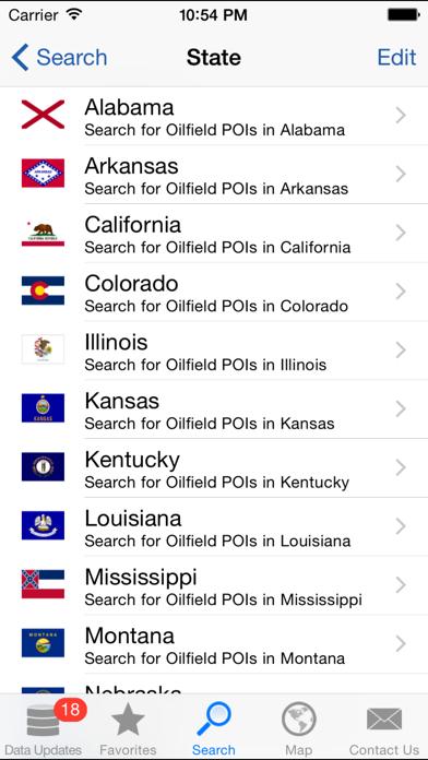 WellSite Navigator USA UL Screenshot