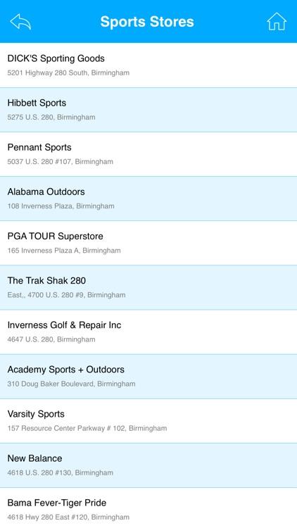 Sporting Goods Stores USA screenshot-4