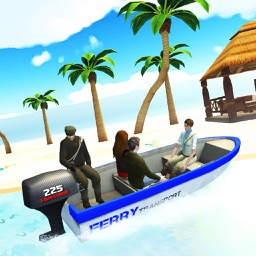 Ferry Boat Driving Simulator: Ride Ferry Transport