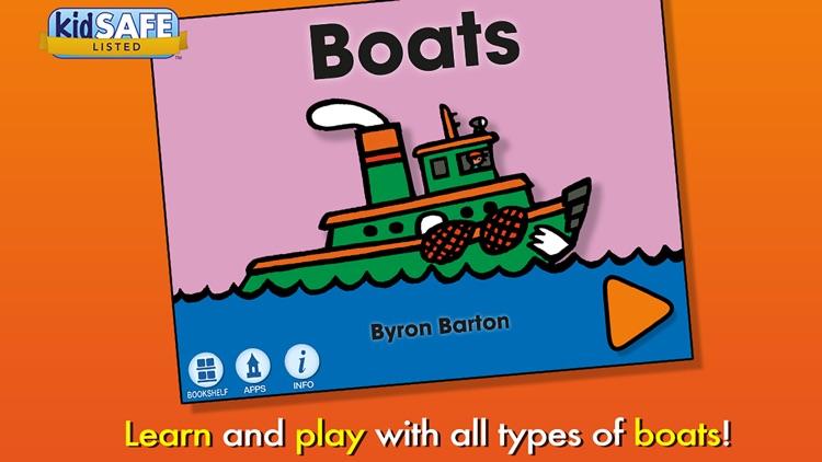 Boats - Byron Barton