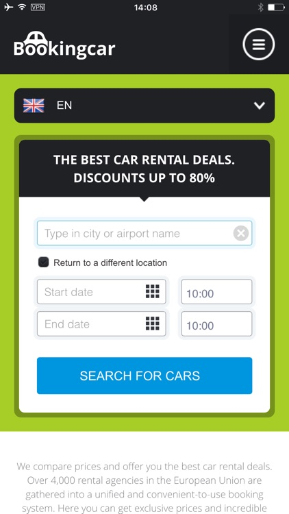 Bookingcar - worldwide car rental