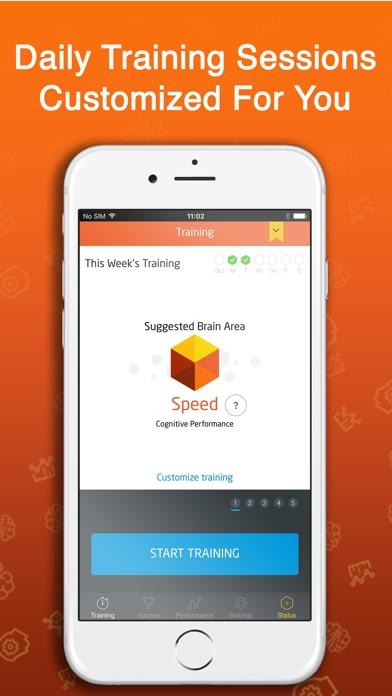 Fit Brains Trainer app image