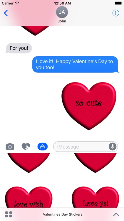 Valentine's Day Stickies screenshot-4