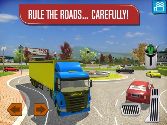 Скачать игру Delivery Truck Driver Highway Ride Simulator
