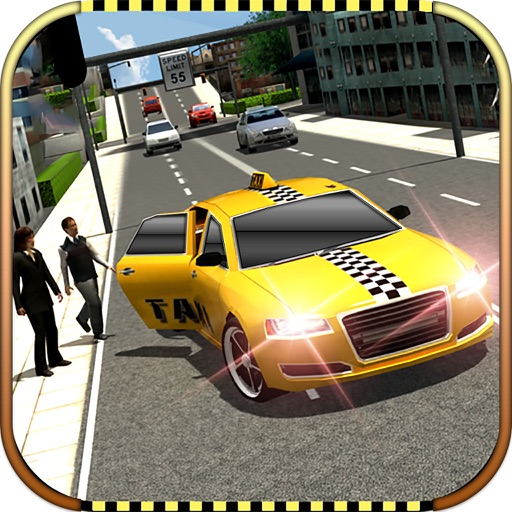 Real Taxi Car Driver : 3D Simulator 2017