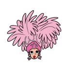 I Love Lucy - Cartoon Stick Figure Stickers icon