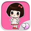 Noi Nae The Naughty Girl Stickers for iMessage