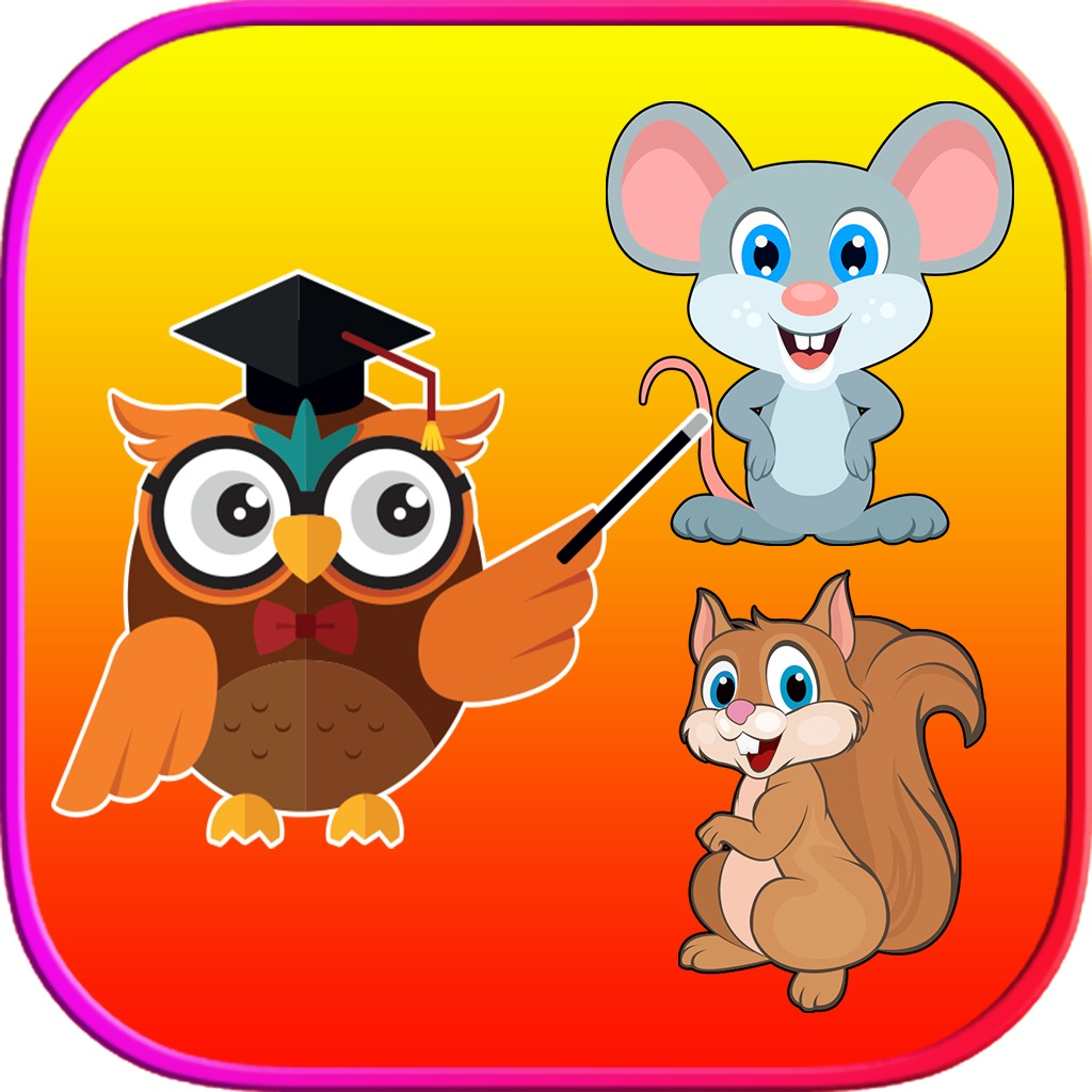 Animals Vocabulary Learning For Kids - 4 Fun Games hack