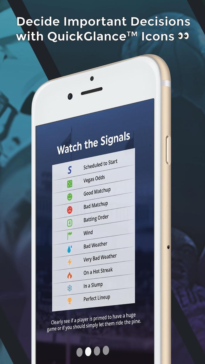 LineStar for FanDuel Screenshot
