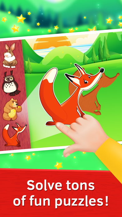 Wild Animals Puzzle for Toddlers