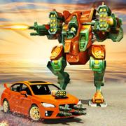 汽车机器人变换击战