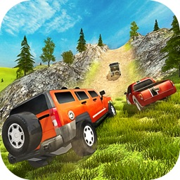 Uphill Off road Prado Car Driving Simulator 2017