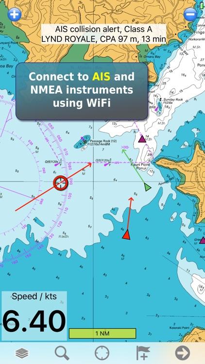 Memory-Map Topo Maps and Marine Navigation screenshot-3