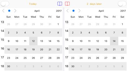 Dual Calendar screenshot 1