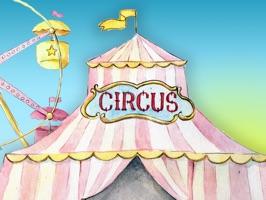 Watercolor Circus