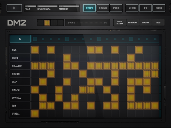 Screenshot DM2 - The Drum Machine